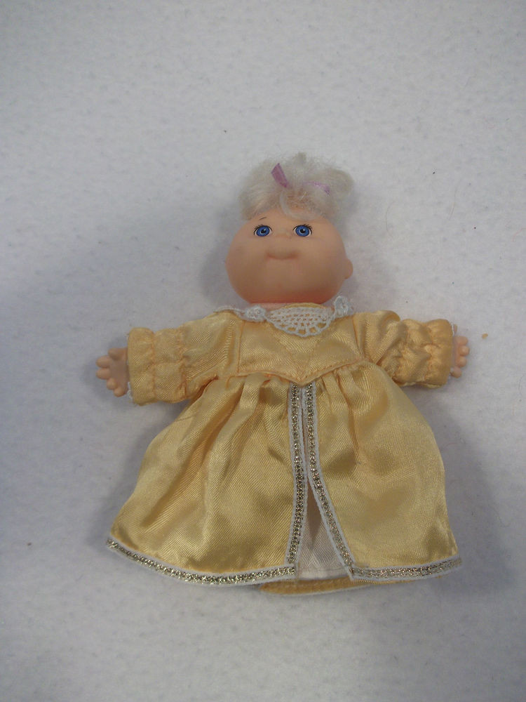 """Best Of 1995 Mattel Mini Cabbage Patch Doll 5"""" Xavier Roberts 12 Small Cabbage Patch Dolls Of Unique 47 Pictures Small Cabbage Patch Dolls"""