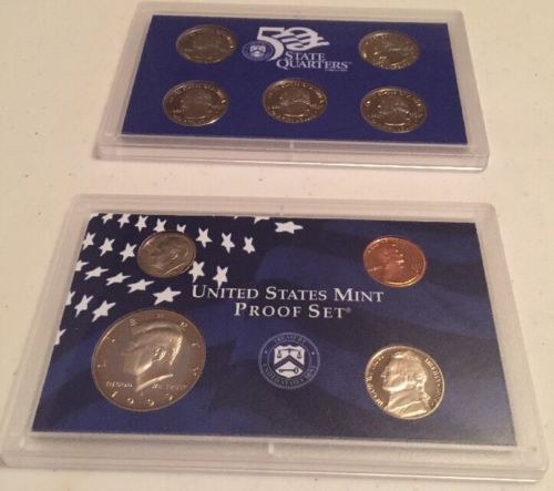 Best Of 1999 United States Mint Coin Proof Set with Coa for Sale United States Mint Proof Set Of Charming 43 Photos United States Mint Proof Set