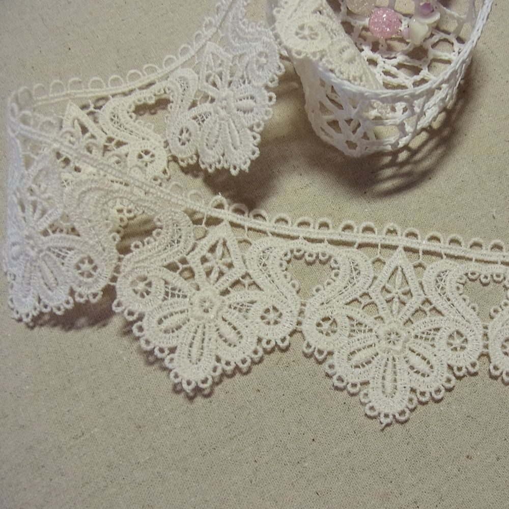 Best Of 1yd Antique St Scalloped Embroidery Cotton Fabric Crochet Crochet Lace Fabric Of Attractive 45 Images Crochet Lace Fabric