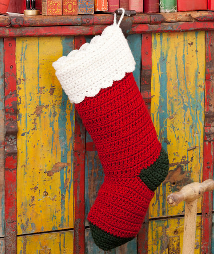 Best Of 20 Free Crochet Christmas Stocking Patterns Crochet Pattern for Christmas Stocking Of Lovely Christmas Stockings Crochet Pattern for Christmas Stocking
