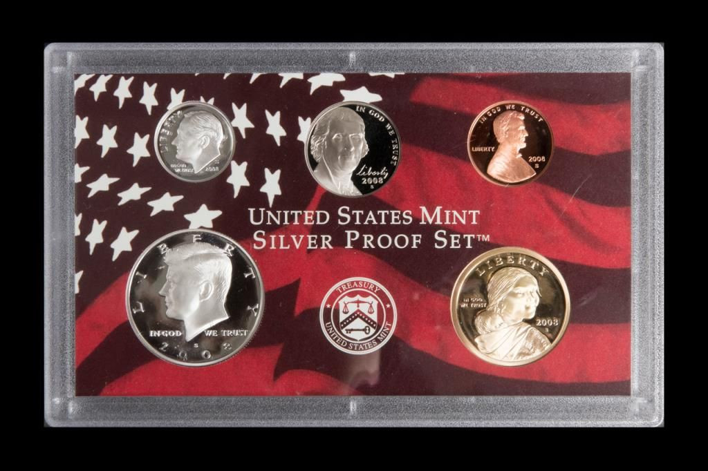 Best Of 2008 United States Mint Silver Proof Set with Certificate United States Mint Proof Set Of Charming 43 Photos United States Mint Proof Set