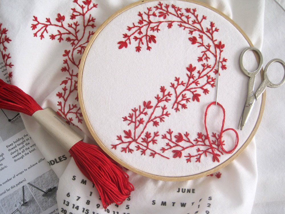 Best Of 2012 Tea towel Calendar Diy Embroidery Kit Hand Embroidery Kits Beginners Of Gorgeous 45 Photos Hand Embroidery Kits Beginners