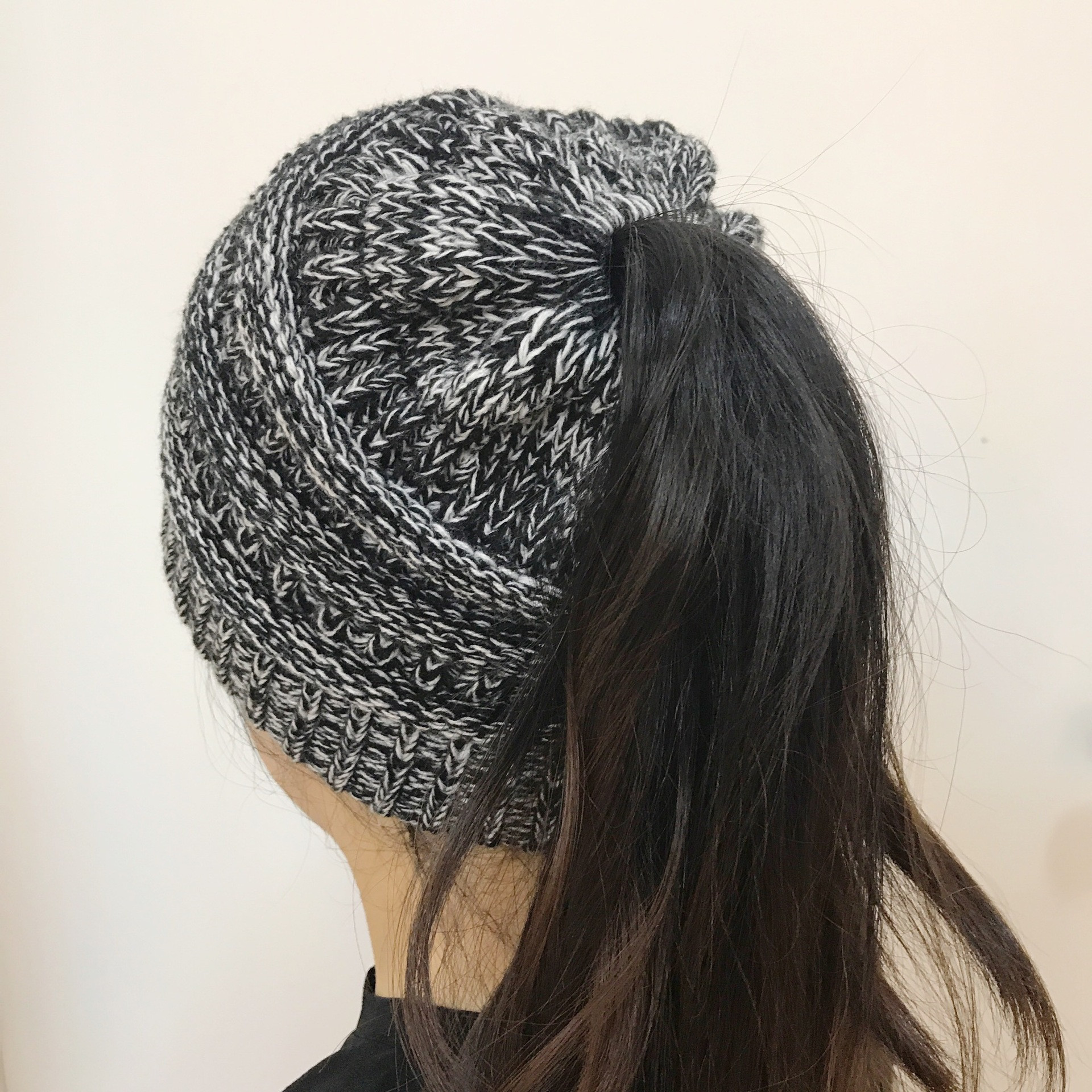 Best Of 2017 Beanietail Messy High Bun Ponytail Stretchy Knit Beanie with Hole for Bun Of Great 40 Pics Beanie with Hole for Bun