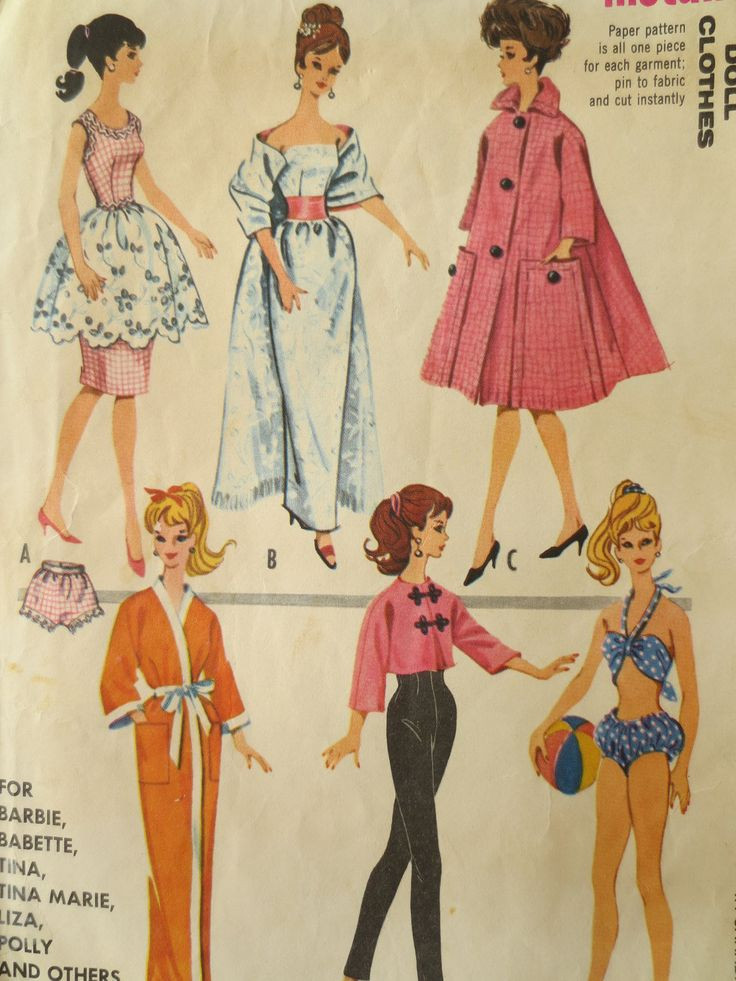Best Of 25 Unique Barbie Sewing Patterns Ideas On Pinterest Barbie Doll Patterns Of Superb 40 Pics Barbie Doll Patterns