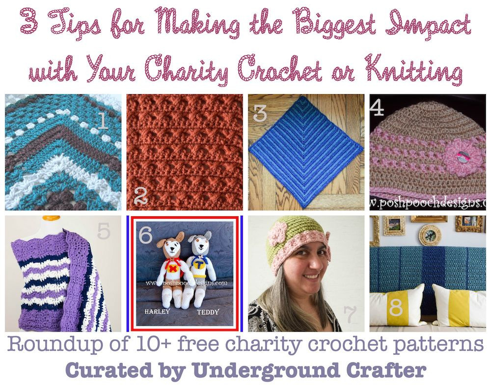 Best Of 3 Tips for Making the Biggest Impact with Your Charity Knitting for Charity organizations Of Amazing 45 Ideas Knitting for Charity organizations