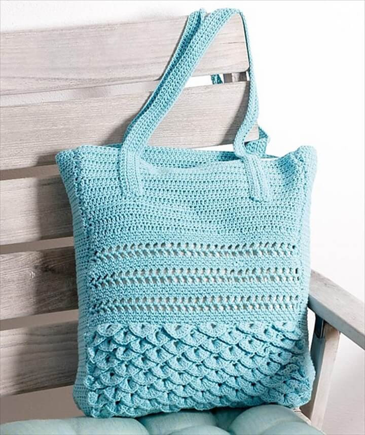 Best Of 30 Easy Crochet tote Bag Patterns Crochet tote Of Adorable 41 Images Crochet tote