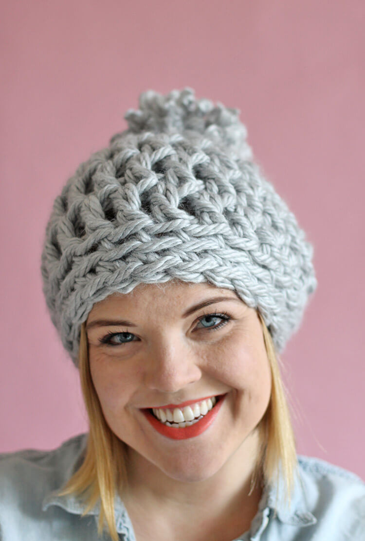 Best Of 30 Minute Easy Chunky Crochet Beanie Persia Lou Simple Crochet Hat Of Awesome 43 Images Simple Crochet Hat