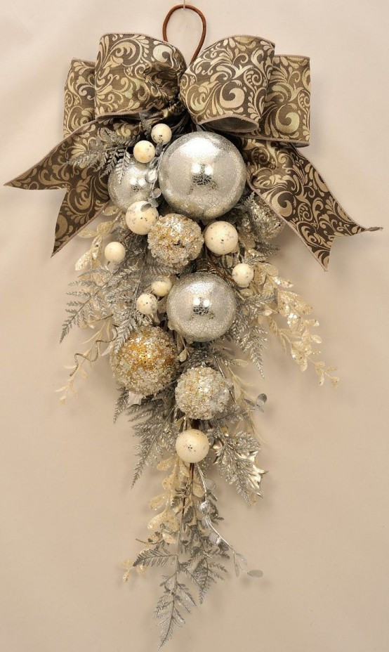 Best Of 31 Sparkling Gold Christmas Décor Ideas Digsdigs Fancy Christmas ornaments Of Gorgeous 49 Ideas Fancy Christmas ornaments