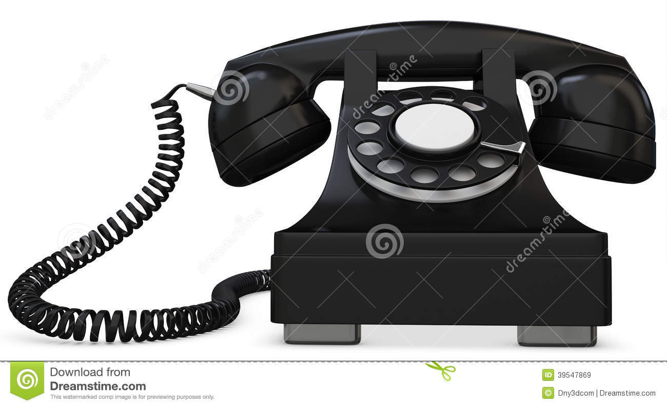Best Of 3d Black Old Fashioned Phone Stock Illustration Old Time Phone Of Great 44 Models Old Time Phone