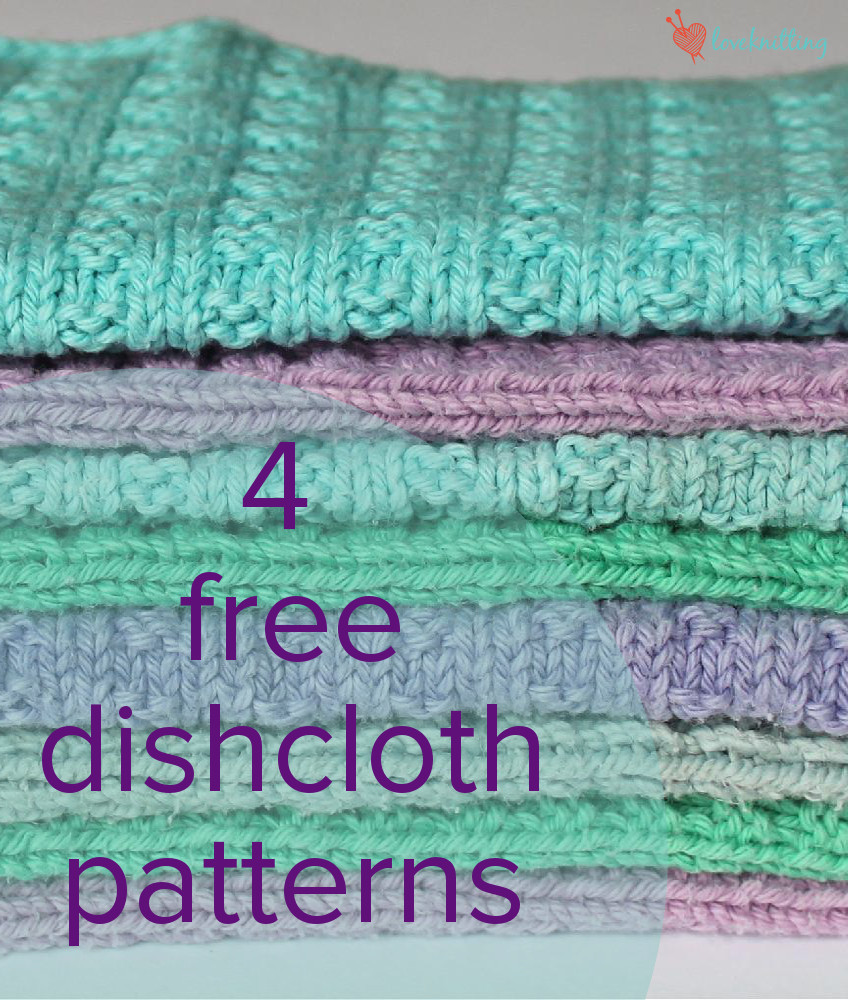 Best Of 4 Free Dishcloth Patterns • Loveknitting Blog Dishcloth Patterns Of Charming 41 Images Dishcloth Patterns
