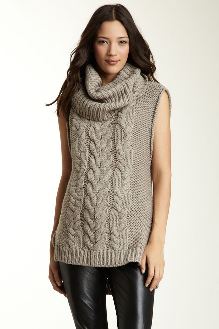 Best Of 47 Best Sweaters Tejido Con Trenza Images On Pinterest Cowl Neck Knit Sweater Of Top 42 Pictures Cowl Neck Knit Sweater