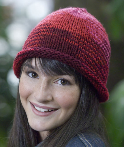 Best Of 50 Free Easy Hat Knitting Patterns for Winter ⋆ Knitting Bee Knit Hat with Brim Of Contemporary 48 Pictures Knit Hat with Brim
