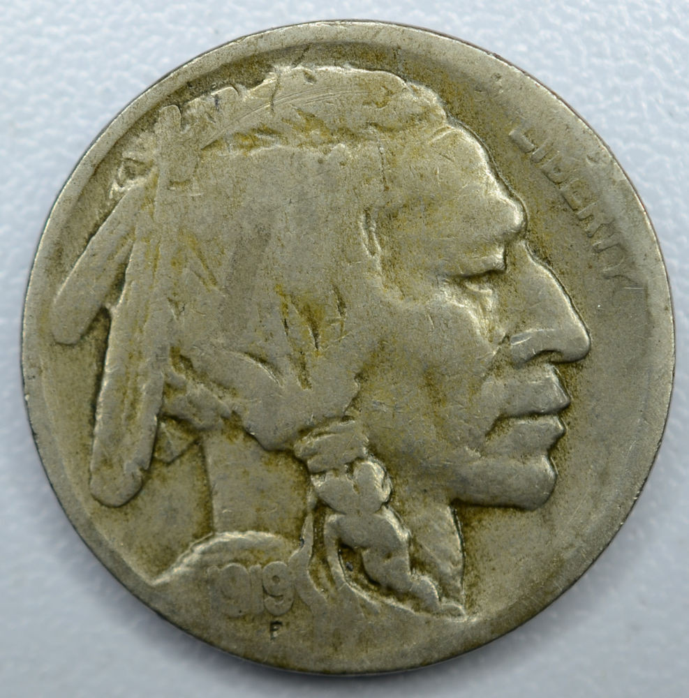 Best Of 5c Five Cent 1919 D F Vf Buffalo Nickel Better Date even Buffalo 5 Cent Of Great 49 Photos Buffalo 5 Cent