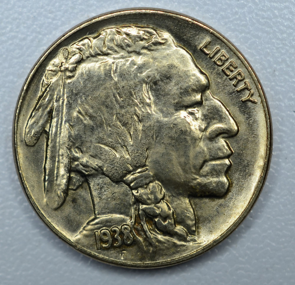 Best Of 5c Five Cent 1938 D Gem Bu Buffalo Nickel Extreme High Buffalo 5 Cent Of Great 49 Photos Buffalo 5 Cent