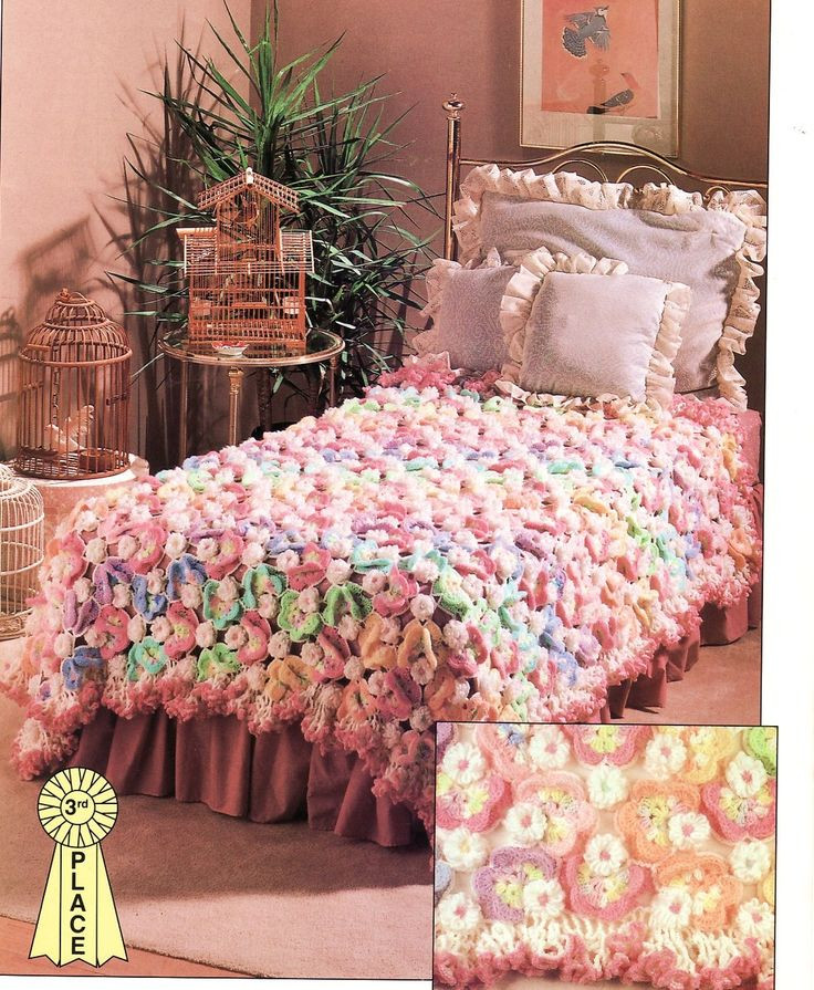 Best Of 684 Best Bedspreads Images On Pinterest Free Crochet Bedspread Patterns Of Unique 48 Photos Free Crochet Bedspread Patterns