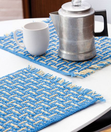 7 best images about Crochet Placemats & Table Runners on