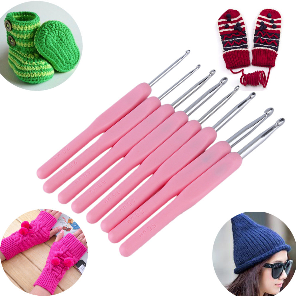 Best Of 8 Size soft Plastic Handle Multicolor Knitting Needles Knitting Needle Sets Of Superb 42 Pictures Knitting Needle Sets