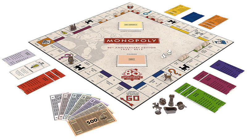 Best Of 80th Anniversary Monopoly Set Includes Game tokens From Monopoly Game Versions Of Gorgeous 40 Photos Monopoly Game Versions