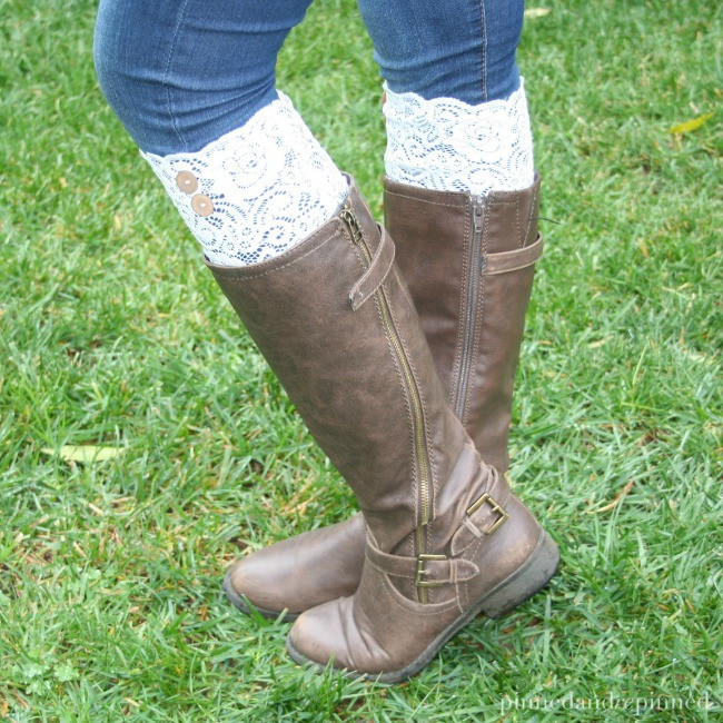 Best Of 9 Diy Boot Cuffs Tutorials Lace Boot Cuffs Of Awesome 50 Pictures Lace Boot Cuffs