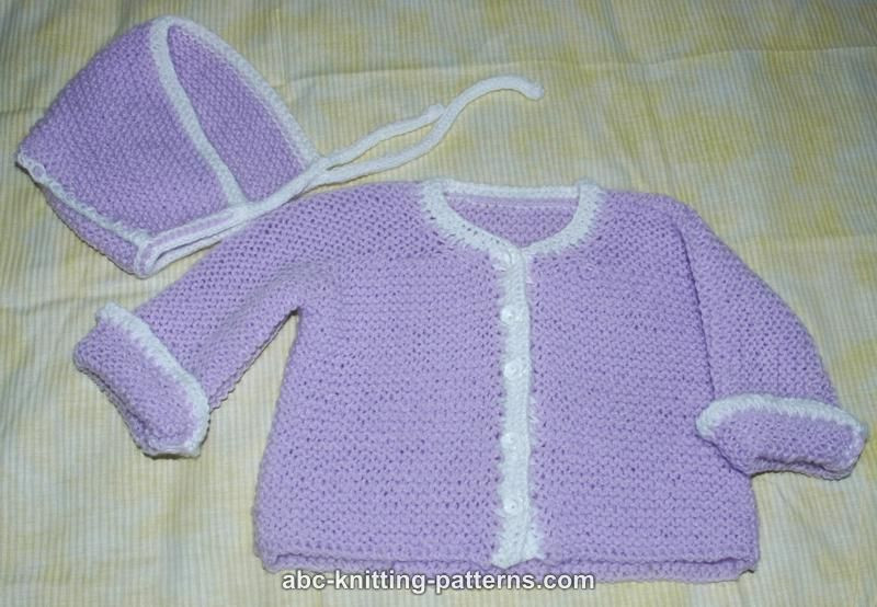 Best Of Abc Knitting Patterns Easy Garter Stitch Baby Cardigan Easy Knit Baby Sweater Of Fresh 41 Ideas Easy Knit Baby Sweater