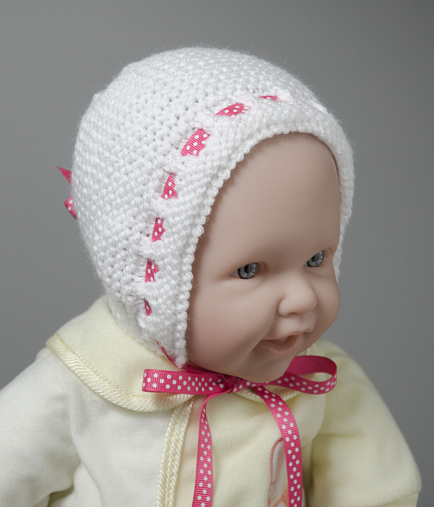 Adjustable Knitted Newborn Baby Hat Pattern Gifts U Can Make