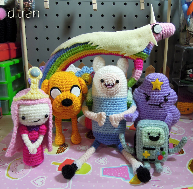 Best Of Adventure Time Group Crochet by Yimtea On Deviantart Crochet Group Of Amazing 46 Pictures Crochet Group