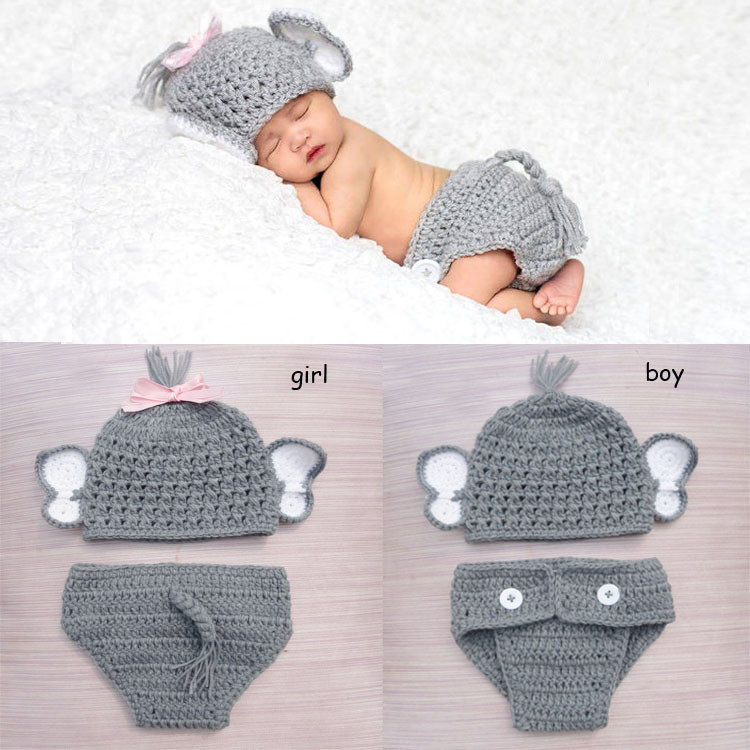 Best Of Aliexpress Buy Crochet Baby Elephant Costume Knitted Crochet Baby Costumes Of Incredible 41 Models Crochet Baby Costumes