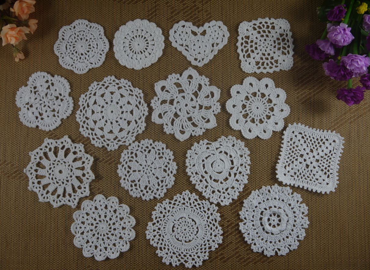 Best Of Aliexpress Buy Handmade Crochet Doilies Table Handmade Crochet Of Delightful 40 Pics Handmade Crochet