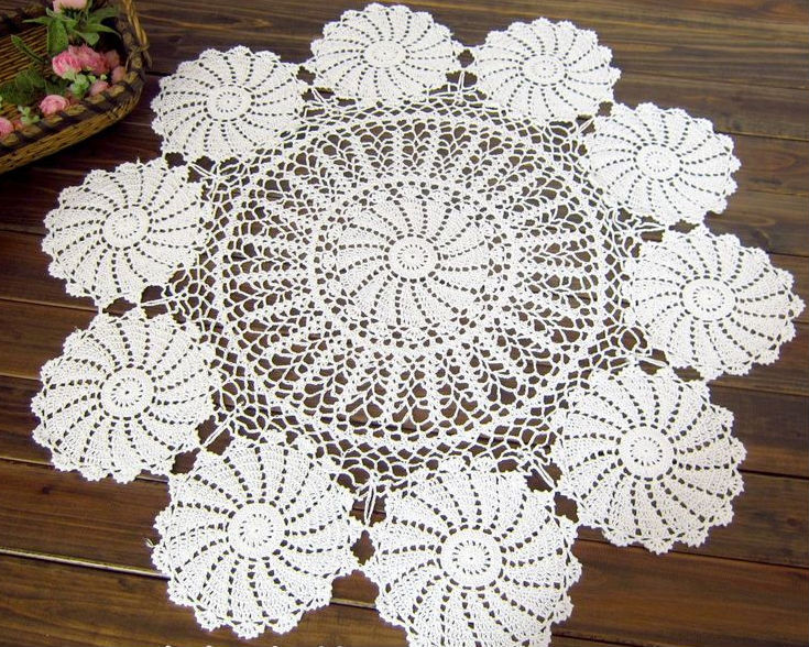 Best Of Aliexpress Buy Vintage Handmade Crochet Tablecloth Crochet Tablecloth for Sale Of Delightful 42 Ideas Crochet Tablecloth for Sale