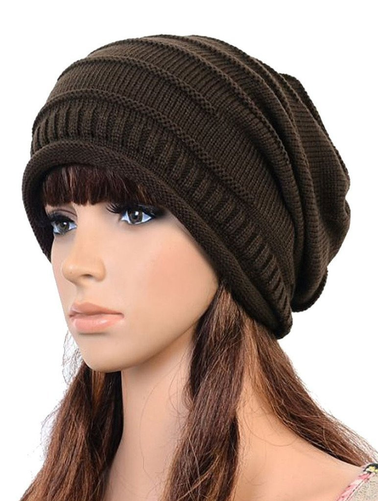 Best Of Amazon Evermarket Tm Winter Knitted Crochet Slouch Winter Knit Hats Of Charming 40 Photos Winter Knit Hats