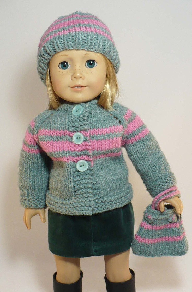 Best Of American Girl 18 Inch Doll Clothes Hand Knit Cardigan American Girl Patterns Of Unique 42 Models American Girl Patterns