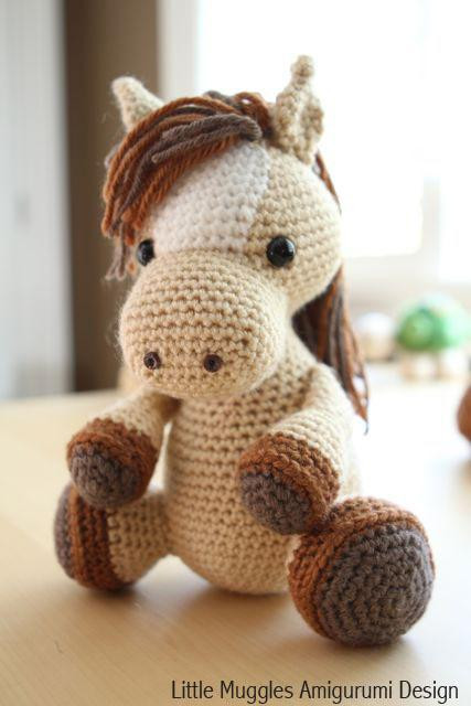 Best Of Amigurumi Pattern Lucky the Horse by Littlemuggles Craftsy Free Crochet Horse Pattern Of Charming 47 Ideas Free Crochet Horse Pattern