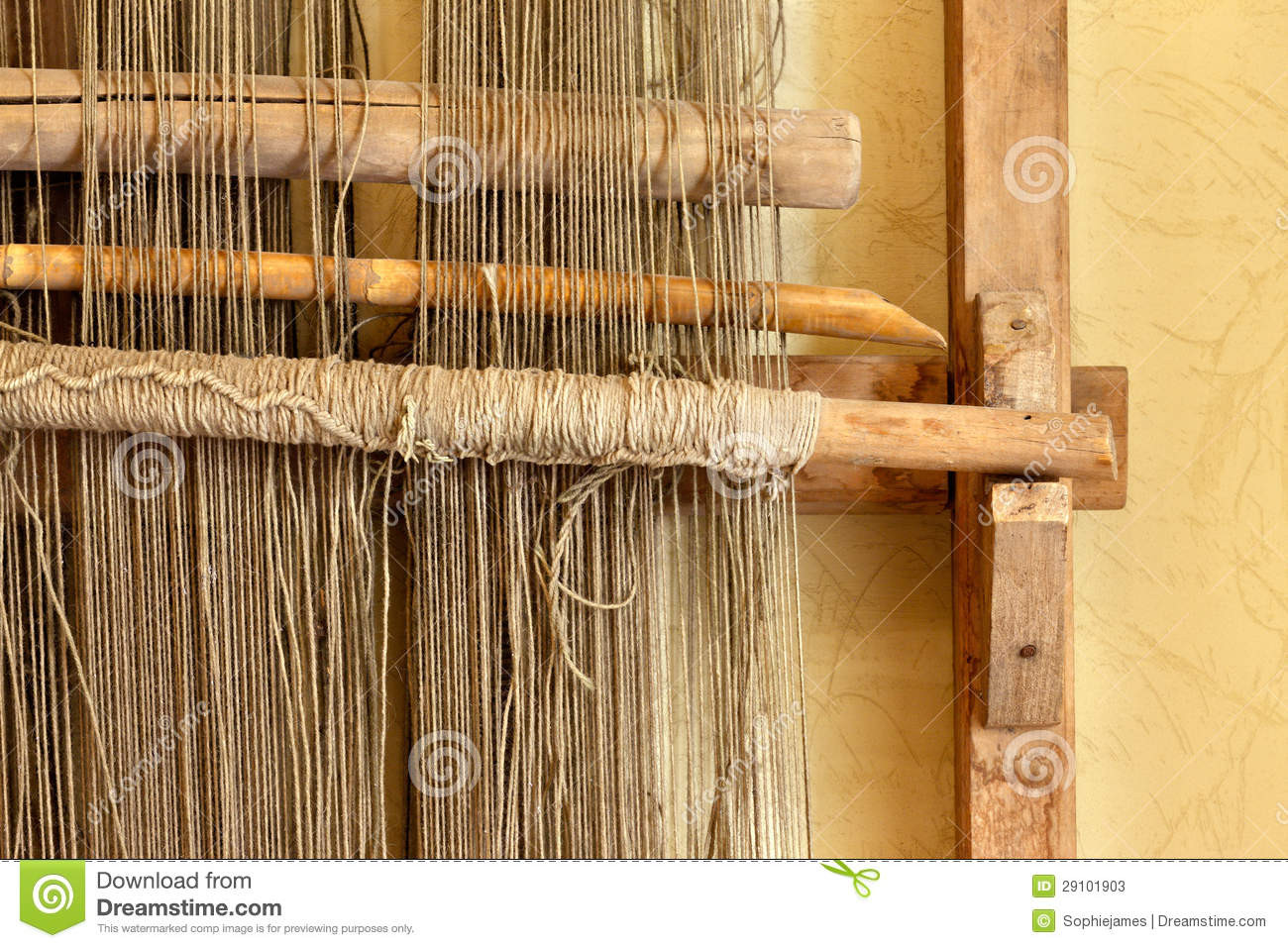 Best Of An Ancient Hand Loom Used to Weave Blankets Stock S Hand Weaving Of Innovative 45 Ideas Hand Weaving