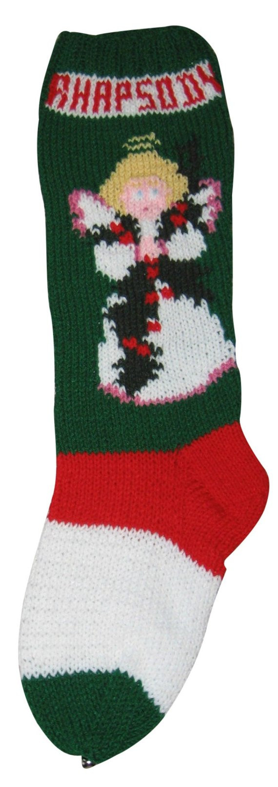 Best Of Angel Pattern Christmas Stocking Christmas Stocking Knit Stocking Pattern Of Attractive 47 Pictures Knit Stocking Pattern