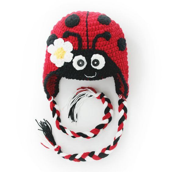 Best Of Animal Hats Crochet Baby Hats and Ladybugs On Pinterest Baby Animal Hats Of Attractive 49 Images Baby Animal Hats