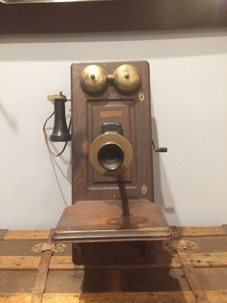 Best Of Antique Western Electric Oak Wall Phone Hand Crank Antique Crank Phone Of Top 49 Pictures Antique Crank Phone
