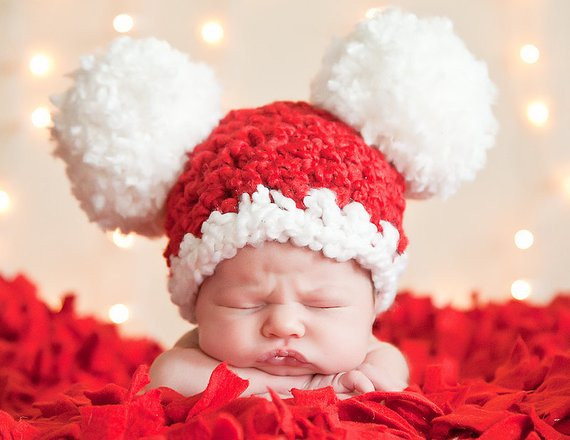 Best Of Baby Christmas Hat Baby Santa Hat Newborn Baby Girl Hat Baby Christmas Hat Of Brilliant 46 Photos Baby Christmas Hat