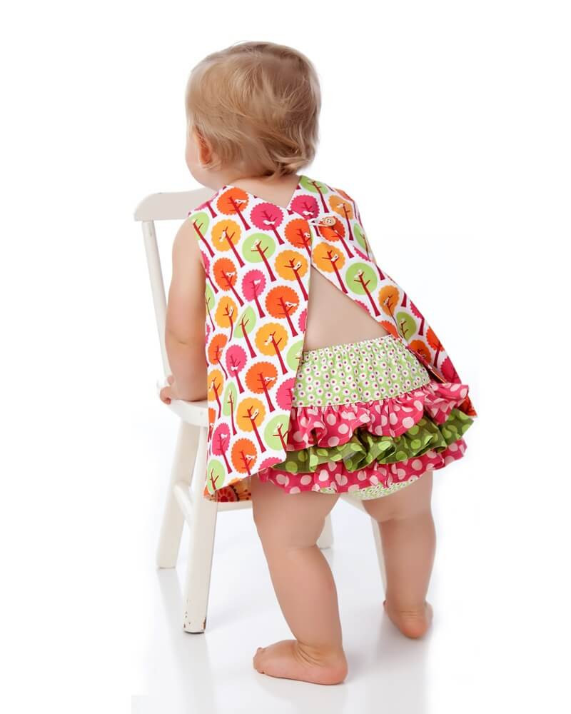 Best Of Baby Dress Pattern – Reversible Open Back – Sewing toddler Clothing Patterns Of Wonderful 49 Pictures toddler Clothing Patterns