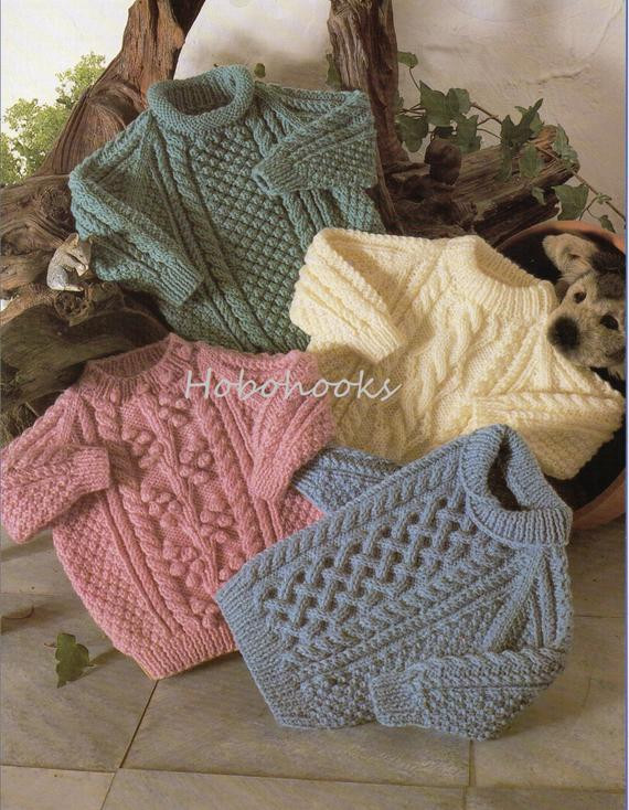 Best Of Baby Knitting Pattern Childrens Knitting Pattern Aran Sweaters Knitting Patterns for Childrens Sweaters Of Charming 47 Models Knitting Patterns for Childrens Sweaters