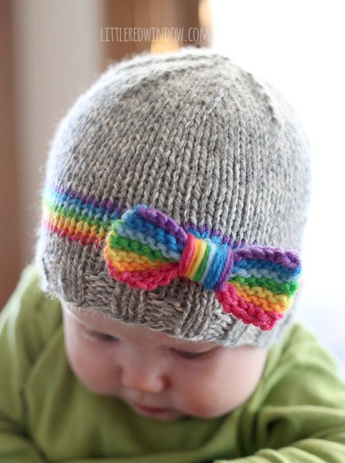 Best Of Baby Knitting Patterns Free Knitting Pattern for Rainbow Knitted Hats for toddlers Of Attractive 49 Images Knitted Hats for toddlers