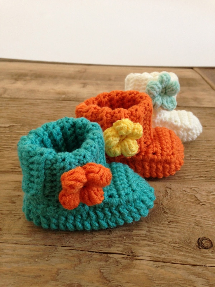 Best Of Babylaarsjes Haken Tutorial Crochet Baby Booties Tutorial Crochet Baby socks Of New Berry Baby Booties Knitting Pattern Easy Crochet Baby socks
