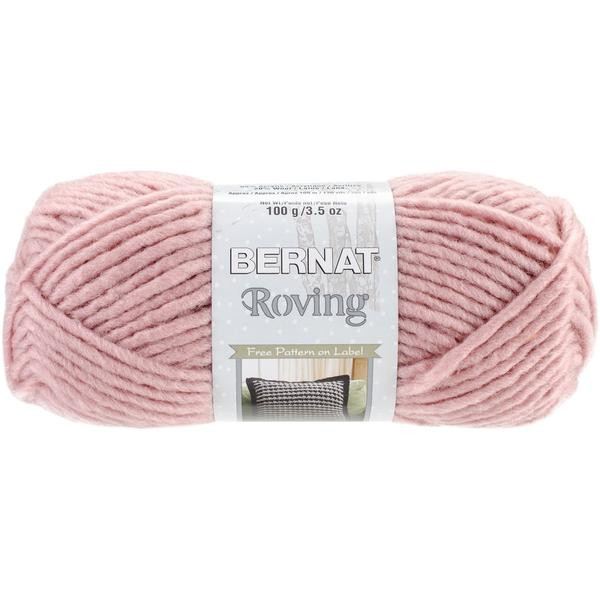 bernat roving yarn quartz pink