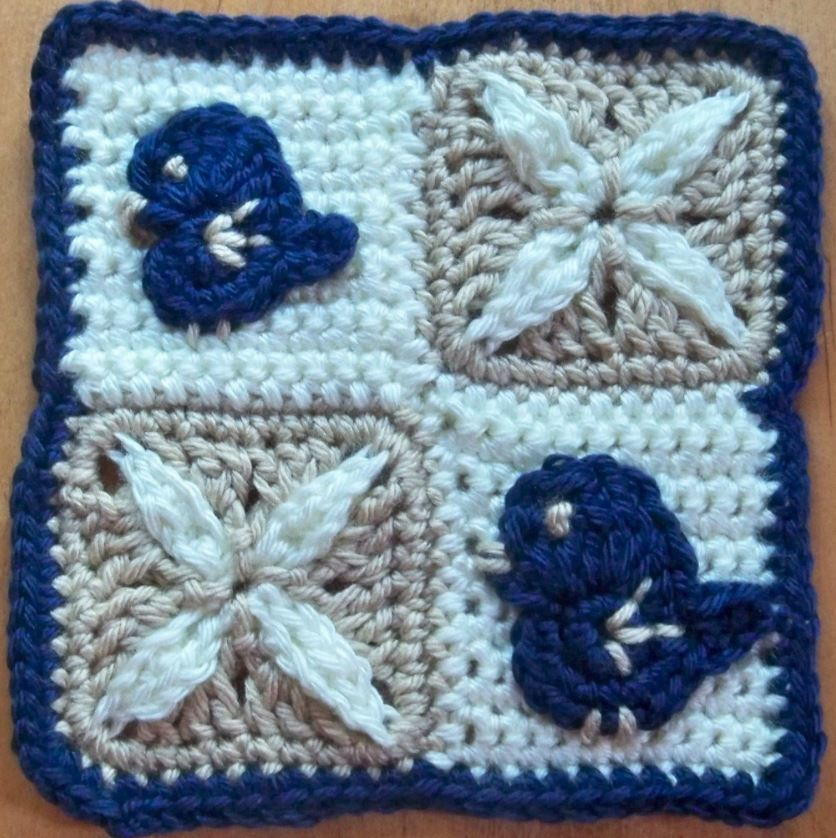 Best Of Birds and Lilies Granny Square All Free Crochet Afghan Patterns Of New 48 Pics All Free Crochet Afghan Patterns