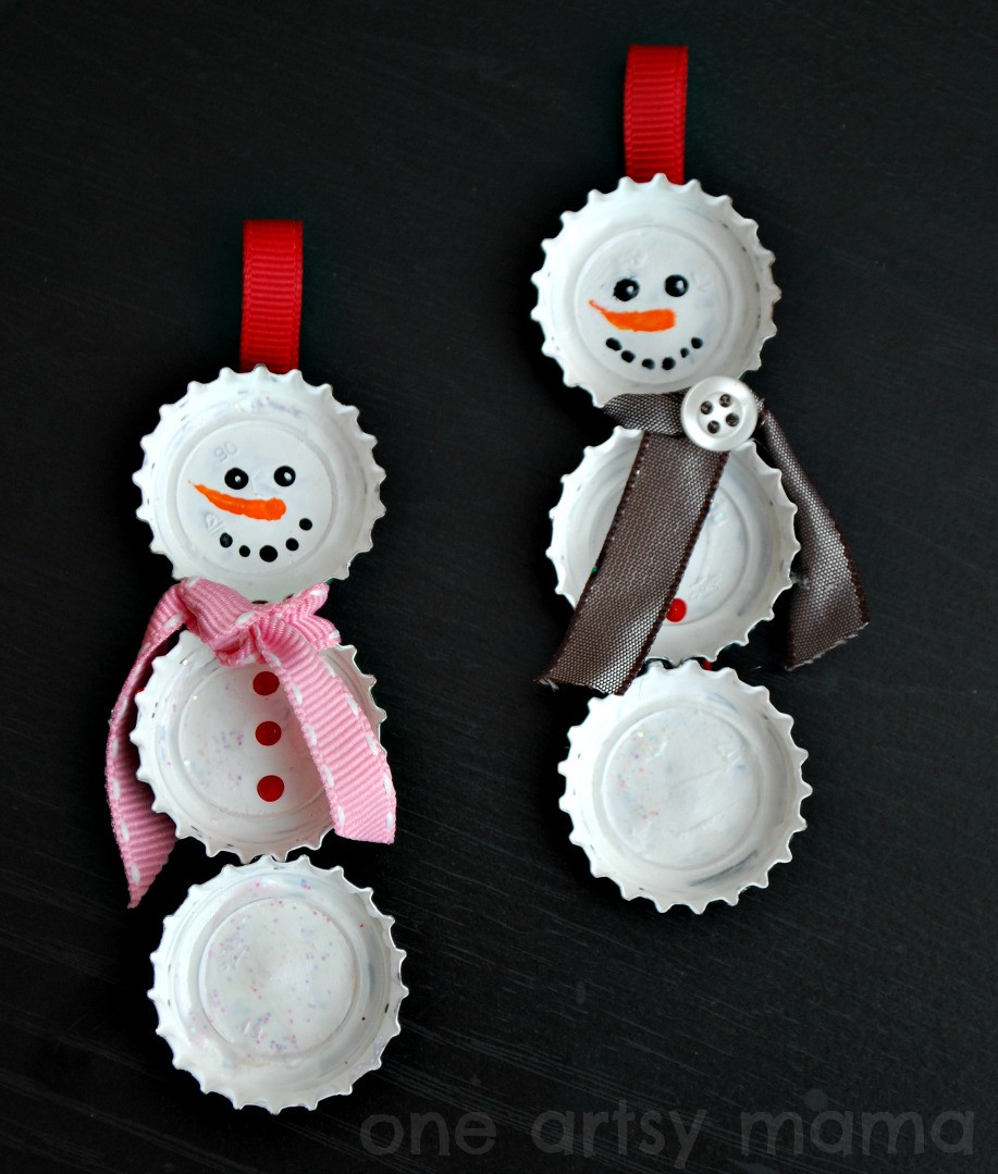 Best Of Bottle Cap Snowman ornaments Amy Latta Creations Snowman Christmas ornaments Of Adorable 45 Models Snowman Christmas ornaments