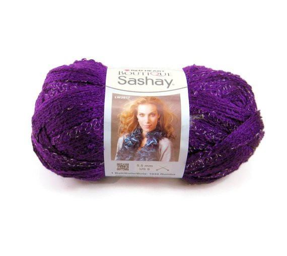 Best Of Boutique Sashay Yarn by Red Heart In the Purple Colorway Red Heart Sashay Yarn Of Attractive 50 Photos Red Heart Sashay Yarn