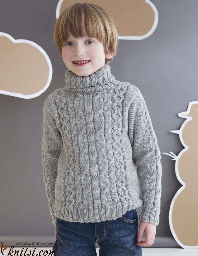 Best Of Boys Roll Neck Sweater Knitting Pattern Boy Sweater Knitting Pattern Of Incredible 49 Ideas Boy Sweater Knitting Pattern