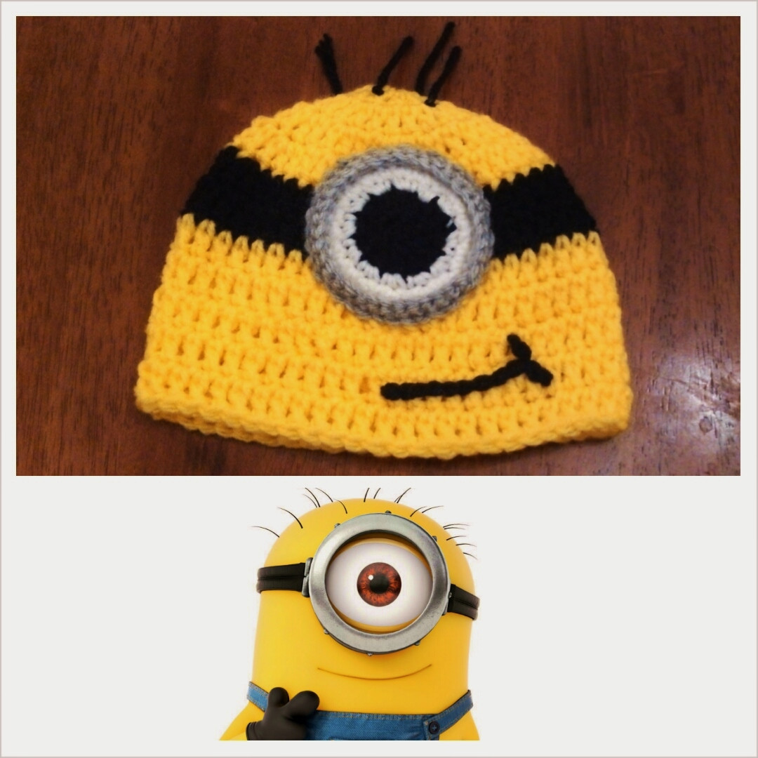 Best Of butterfly S Creations Minion Beanies Minion Pattern Of Gorgeous 50 Models Minion Pattern