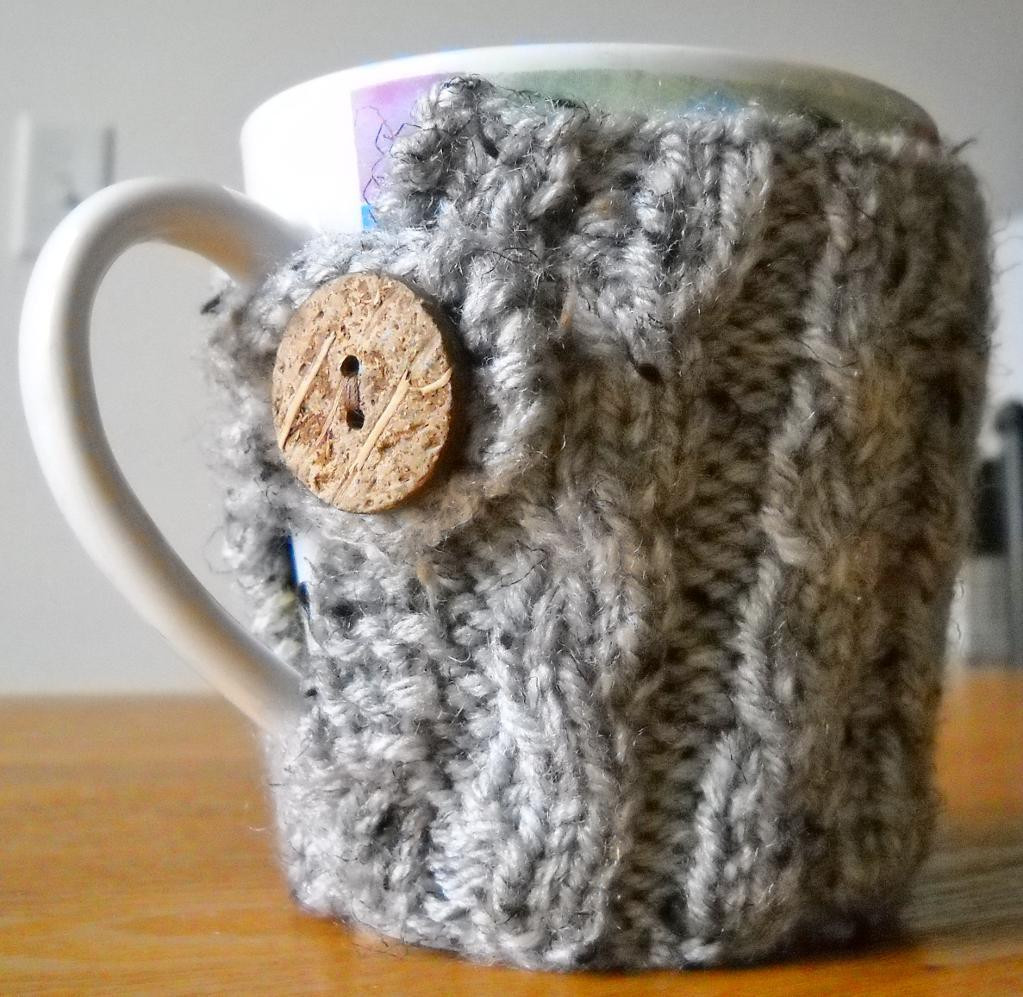 Best Of Cable Knit Coffee Mug Cozy Ii by Naturegirlknits1 Craftsy Knit Coffee Cozy Of Luxury 48 Photos Knit Coffee Cozy