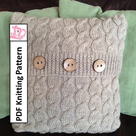 Best Of Cable Knit Pillow Cover Pattern Cascading Cable 16 X 16 Cable Knit Pillow Cover Of Top 41 Pictures Cable Knit Pillow Cover