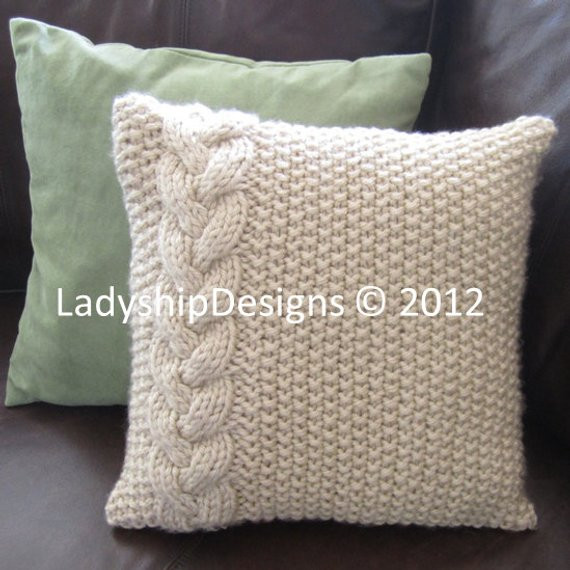 Best Of Cable Knit Pillow Cover Pattern Knit Pattern by Knit Pillow Cover Pattern Of Amazing 45 Pics Knit Pillow Cover Pattern